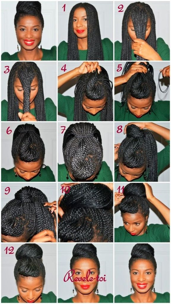 Fonte: http://www.gurl.com/2014/03/16/natural-hair-updo-tutorials-for-prom/