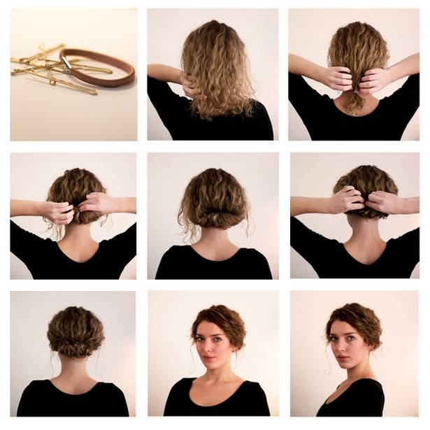 Fonte: http://healthc.net/15-great-short-hairstyle-step-by-step-tutorials/